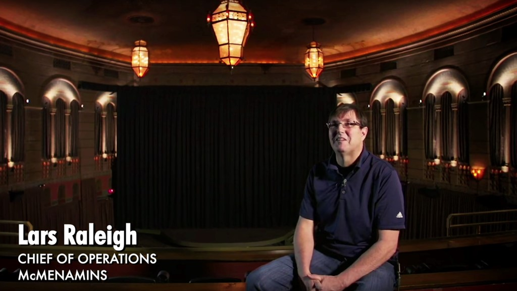 Meet Lars Raleigh, COO, Bagdad Theater